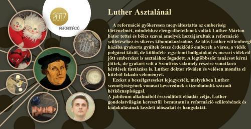 Luther Asztalánál